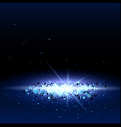 galaxy abstract background vector image