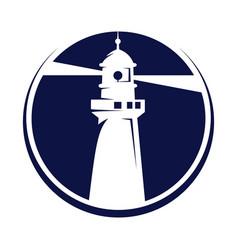 Nautical marine travel business symbol vector