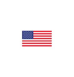 united states usa flag national vector image