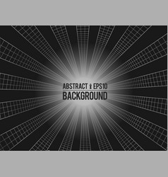 wavy linear monochrome procedural terrain striped vector image