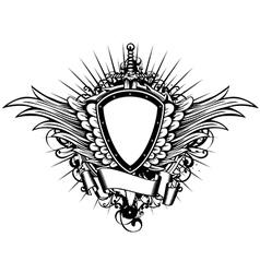 board sword wings3 vector image vector image