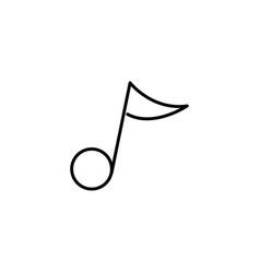 quaver icon vector image