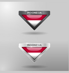 3d label tag and location pointer flag nation vector
