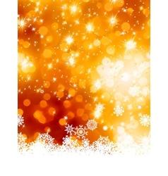 Abstract christmas with snowflake EPS 8 vector