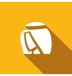 Arabic man icon vector