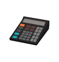 calculator isolated vector image