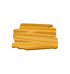 Old wooden board for banners or messages vector