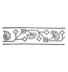 Persian design neighboring civilizations have vector