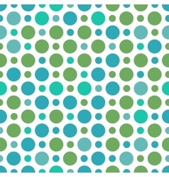 Seamless pattern with small and big peas vector