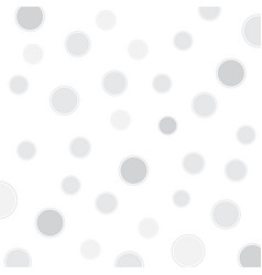 White background with circles vector
