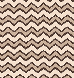 Chevron tans pattern vector image vector image