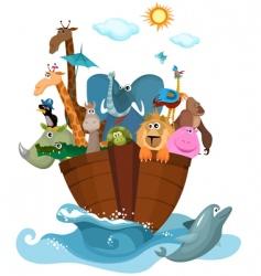 Noah's ark vector image