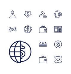 13 exchange icons vector