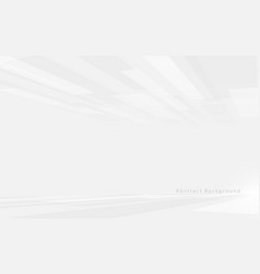 Abstract white and grey technology hi-tech vector