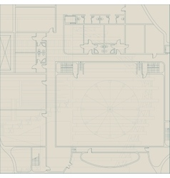 Architectural technical background vector