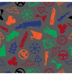automotive colorful pattern eps10 vector image vector image