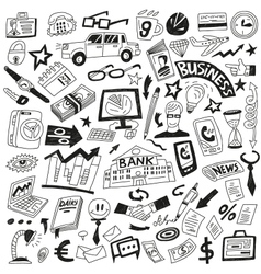 Business - icons collection vector image