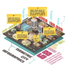 Government Buildings Infographic Set vector