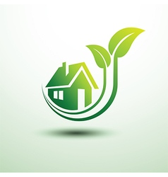 Green house3 vector