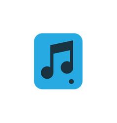 multimedia colorful icon symbol premium quality vector image vector image