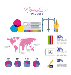 people working process vector image
