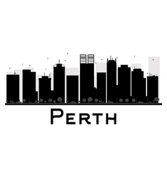 Perth silhouette vector