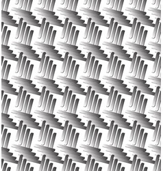 seamless pattern with bars vector image