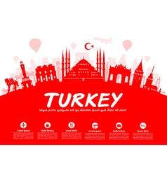 Turkey Travel vector