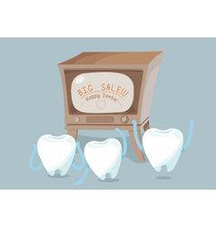 Big sale of dental vector image vector image