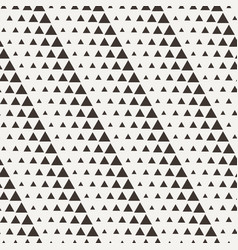 Seamless triangle halftone gradient pattern vector