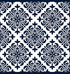 floral ornamental decoration pattern vector image vector image