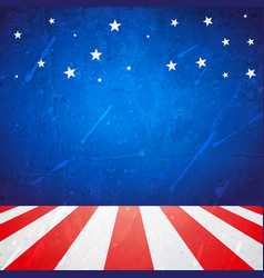 american background with space for your text vector image