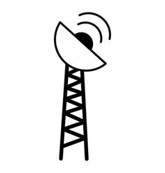 antenna transmission signal vector image
