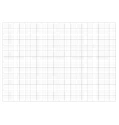 monochrome grid paper 20 cm a3 grid and graph vector image
