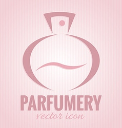 Parfumery icon vector