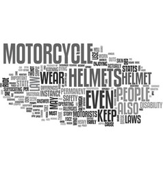 What the motorcycle helmet law states per state vector