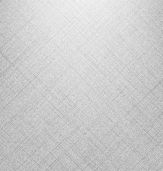 White denim linen texture vector image vector image