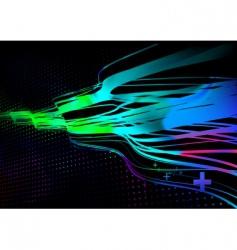 Disco lights vector
