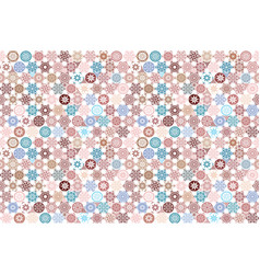 seamless ceramic tile with colorful patchwork vector image