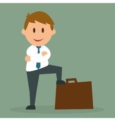 Business entrepreneur vector
