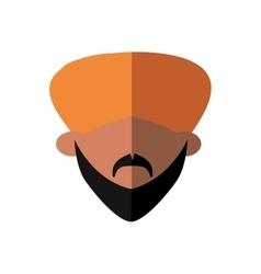 Cartoon man icon Indian Culture design vector