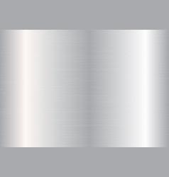 Chrome metal plate vector