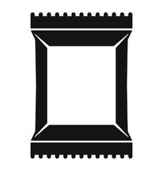 Napkins pack icon simple style vector
