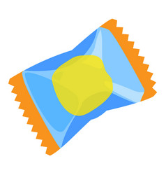 Package gum icon cartoon style vector