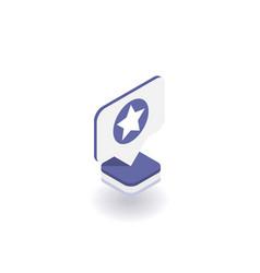 star icon symbol vector image