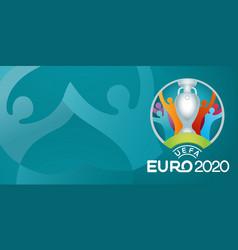 Uefa euro 2020 official logo vector