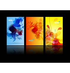 abstract splash backgrounds vector image vector image
