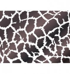 giraffe skin style vector image