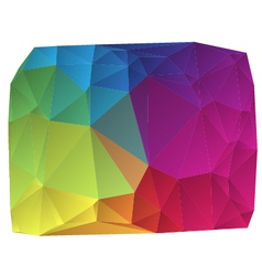 abstract colorful background vector image vector image