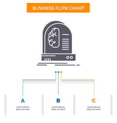 ai brain future intelligence machine business vector image